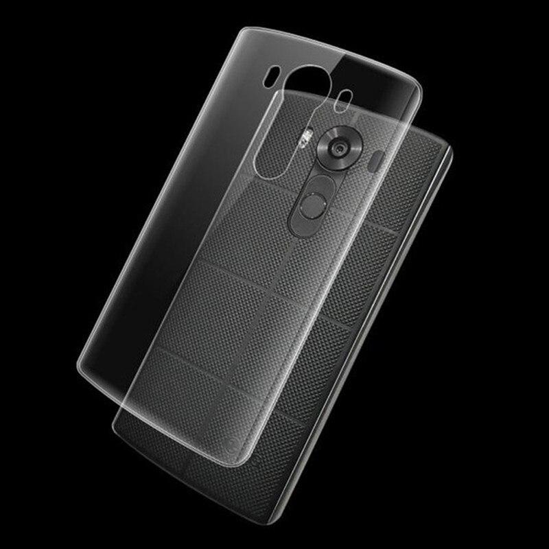 Кристалл мягкий прозрачный ТПУ Силиконовая резина кожи гель ультра тонкий чехол для LG V10