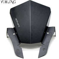 For YAMAHA MT-07 MT07 MT 07 2013 2014 2015 2016 Aluminum Motorcycle Motorbike accessories Windshield Windscreens Wind Deflectors