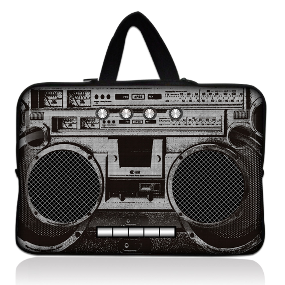 15 inch Radio Recorder Neoprene Laptop Bag Tablet Sleeve Pouch Bag For Dell Hp Lenovo Acer Asus Toshiba For Macbook Pro 15.4 #
