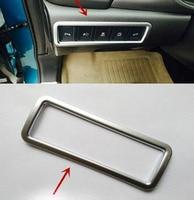 For Suzuki Vitara 2015 Dashboard Odometer Button Switch Chrome Cover Trim Car Styling Stickers Automobile Accessories