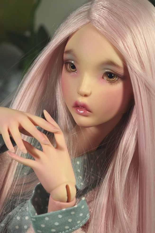 Nova Chegada Bonecas BJD 1/4 Lillycat Ellana Figuras de Resina MSD Nu Brinquedo de Presente Para O Natal Ou de Aniversário