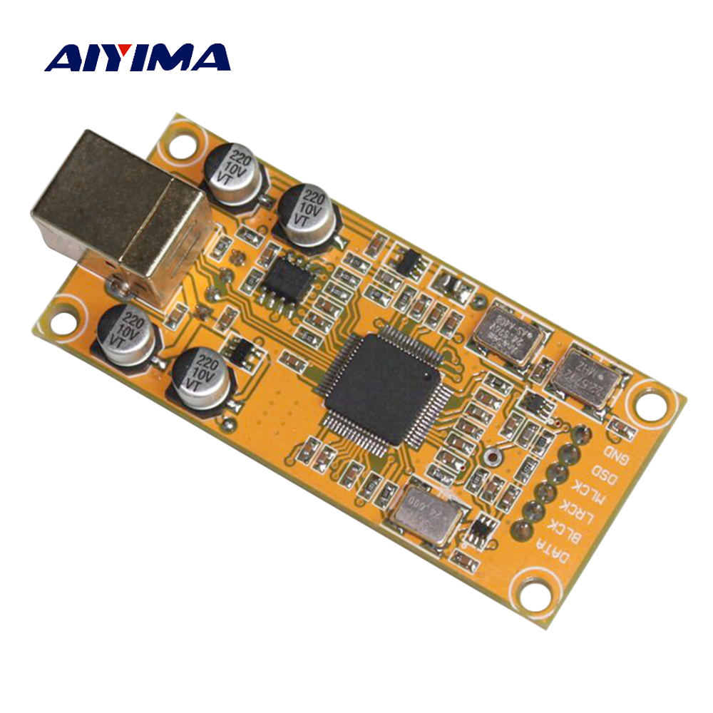 Aiyima XMOS XU208 Daughter Card Decode Board Support 32BIT 384K ES9018 Decoding Compatible Amanero USB IIS Digital Interface