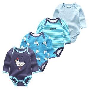 Image 5 - 新生児服ロンパース幼児衣装男の子服長袖綿3 12m幼児パジャマropaデベベ