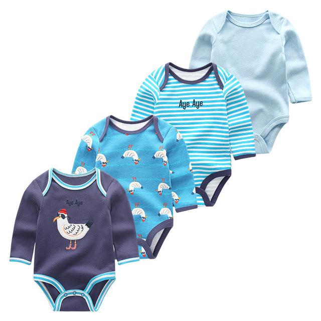 Newborn's Single Breasted Pyjamas