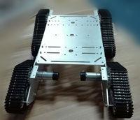 RC 4WD металлический Танк шасси большая нагрузка гусеничная машина большой подшипник гусеничный DIY RC игрушка умный автомобиль шасси робот