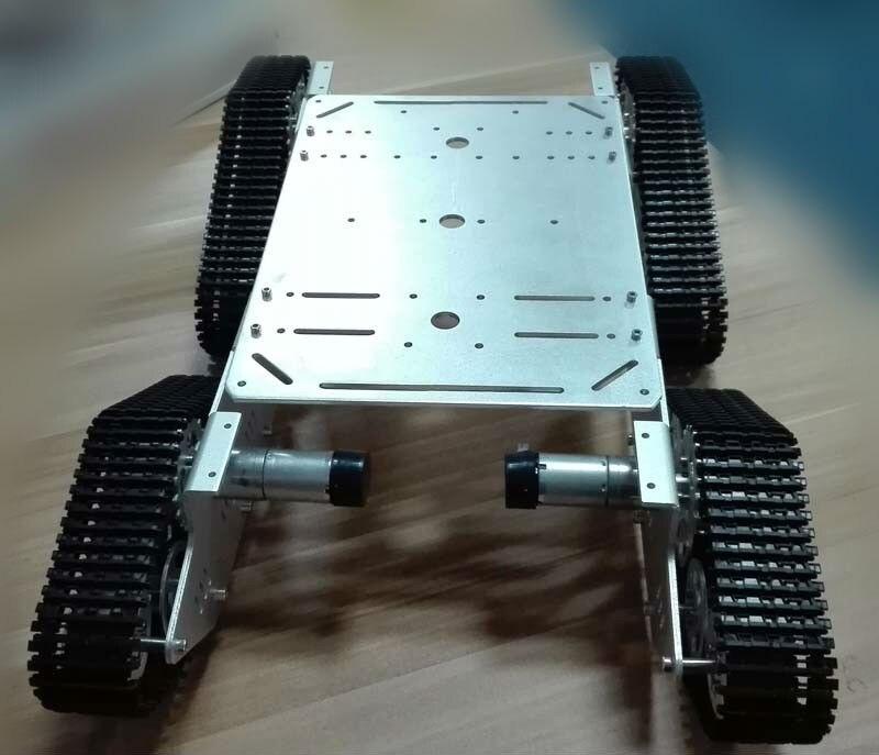 RC 4WD металлический бак шасси большой нагрузки гусеничная машина большой подшипник гусеничный движитель Caterpillar DIY RC игрушки Смарт автомобиль...