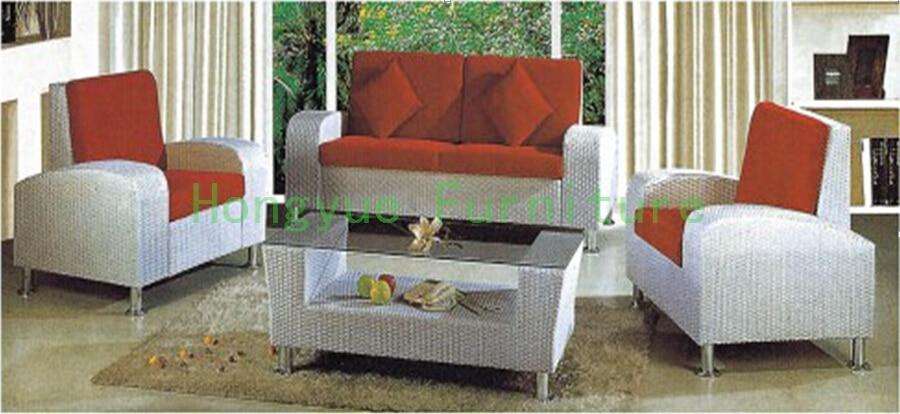 Living Room Wicker Sofa Set Furniture Rattan Sofa Furniture In Living Room Sofas From Furniture
