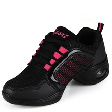 Breathable Deodorant White Dance Shoes Woman Female Soft Bottom Modern Square Dance Shoes Spring Mesh Adult Dancing Sports Shoes