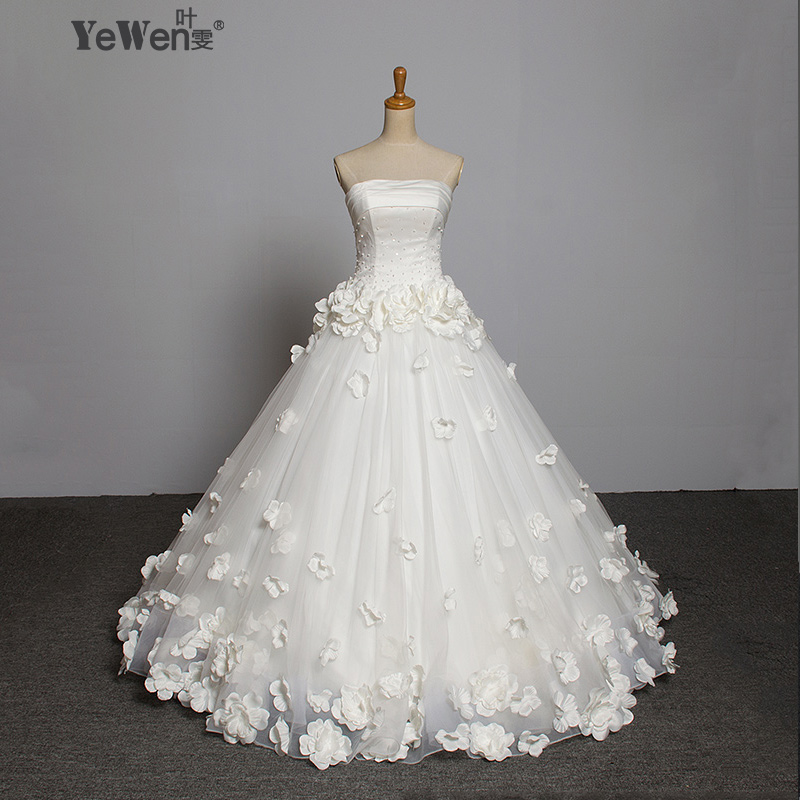 Wedding Gown Sale Online: Aliexpress.com : Buy Romantic Floor Length Custom Flower