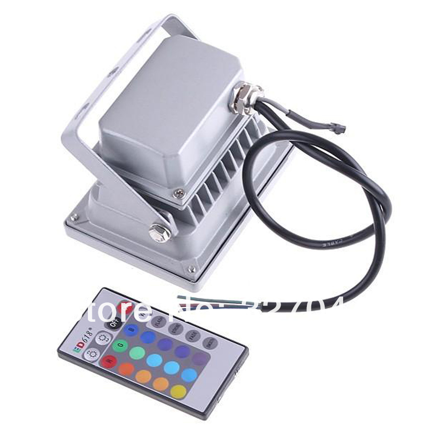 color changeable 10W 20W 30W 50W Warm white / Cool white / Remote Control RGB led floodlight outdoor lighting