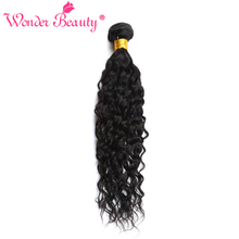 Wonder Beauty Hair Store Peruvian Water Wave non Remy 100% Human Hair Weaving 1 Piece Bundle deals 8 to 30 Inch hair pieces