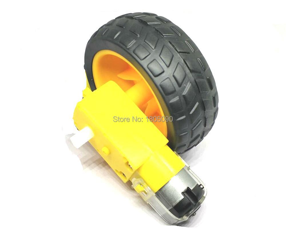 2Pcs Gear Motor For Arduino Intelligent Car Gear Motor Tt Motor Robot Dc 3V-6 cc