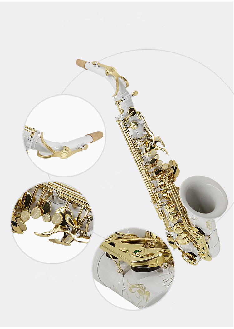 New high quality Alto Saxophone R54 Sax Professional E flat Saxofone Musical Instruments performances Free Case