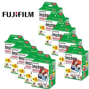 Image 2 - 200 feuilles Fujifilm Instax Mini Film blanc papier Photo instantané pour Fuji Mini 7s 8 9 11 25 50s 70 90 Liplay caméra lien imprimante