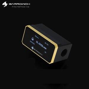 Image 2 - Barrowch FBFT03 V2、デジタル表示oledローター流量計、複数のカラーアルミ合金パネル + ポンポンボディ、リアルタイム検出