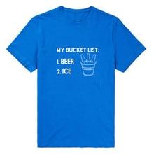 """""""My Bucket List: Beer & Ice"""" women's shirt / girlie"""
