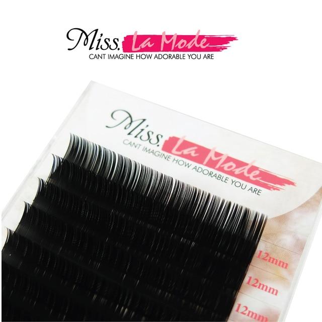 Misslamode All Sizes Mink Eyelashes Free shipping Natural soft individual eyeLashes Extension volume eyelahes extention 3