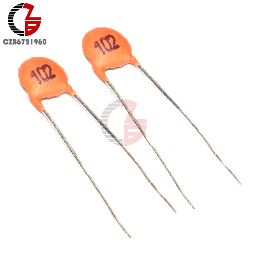 100x Ceramic Disc Capacitors 50V 100nF 0.1uF 104pF for Electronic Toy//Radio