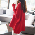 Pregnant Women Sweater Pullovers Maternity Loose Dress Sweaters Autumn Winter Pullover Clothing Pregnancy Solid 4 Colors