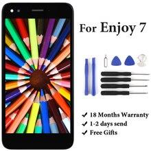 цена на For  P9 lite mini Y6 Pro 2017 LCD Display With Touch Screen Assembly Replacement Nova lite 2017 SLA-L02 SLA-L22 SLA-TL00