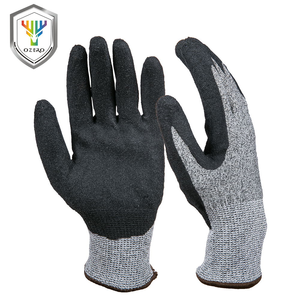 OZERO Work <font><b>Gloves</b></font> Cut <font><b>Resistant</b></font> Stretchy Protection Safety Workers Welding For Farming Farm Garden <font><b>Gloves</b></font> For Men & Women 0001