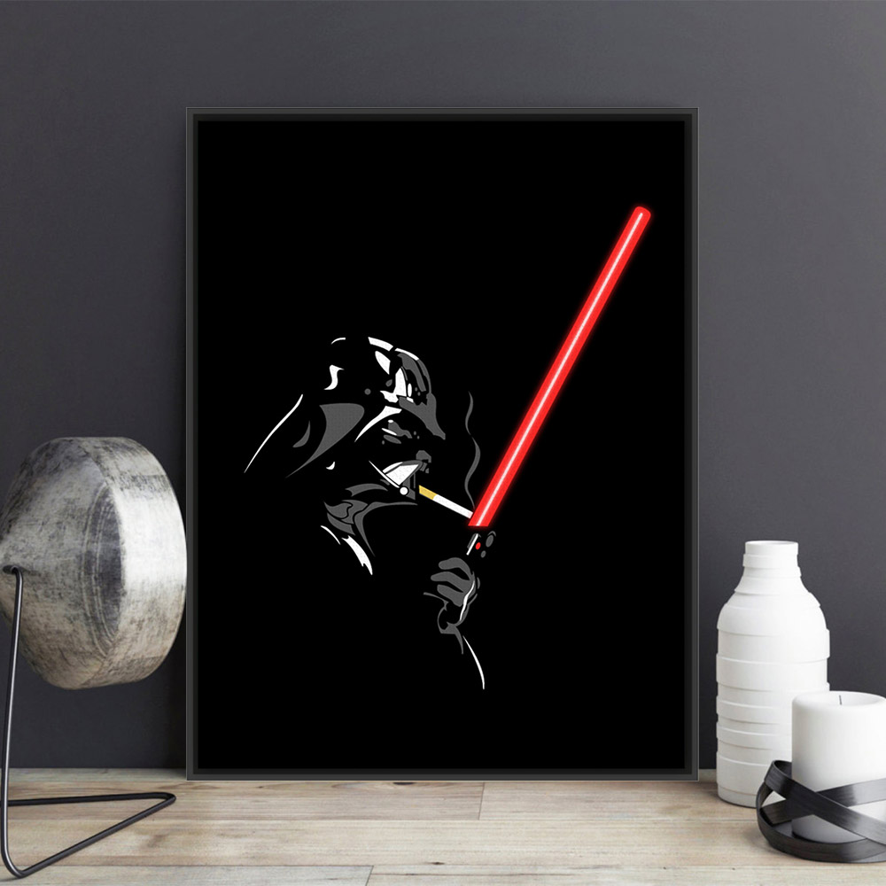 Online buy wholesale original movie posters from china for What paint for canvas