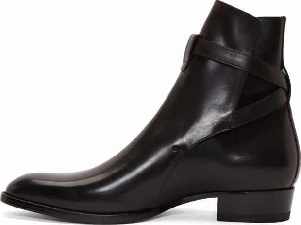 WPG Europa stijl luipaard Hoge hakken Chelsea laarzen zwart Bruin Winter mannen schoenen mannen Scrub lederen schoenen Hoge kwaliteit