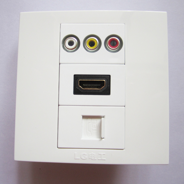 online get cheap phone wall outlet aliexpress com alibaba group shipping 10a rj11 telephone socket multimedia outlet wall plate panel 86x86mm standard size phone plug