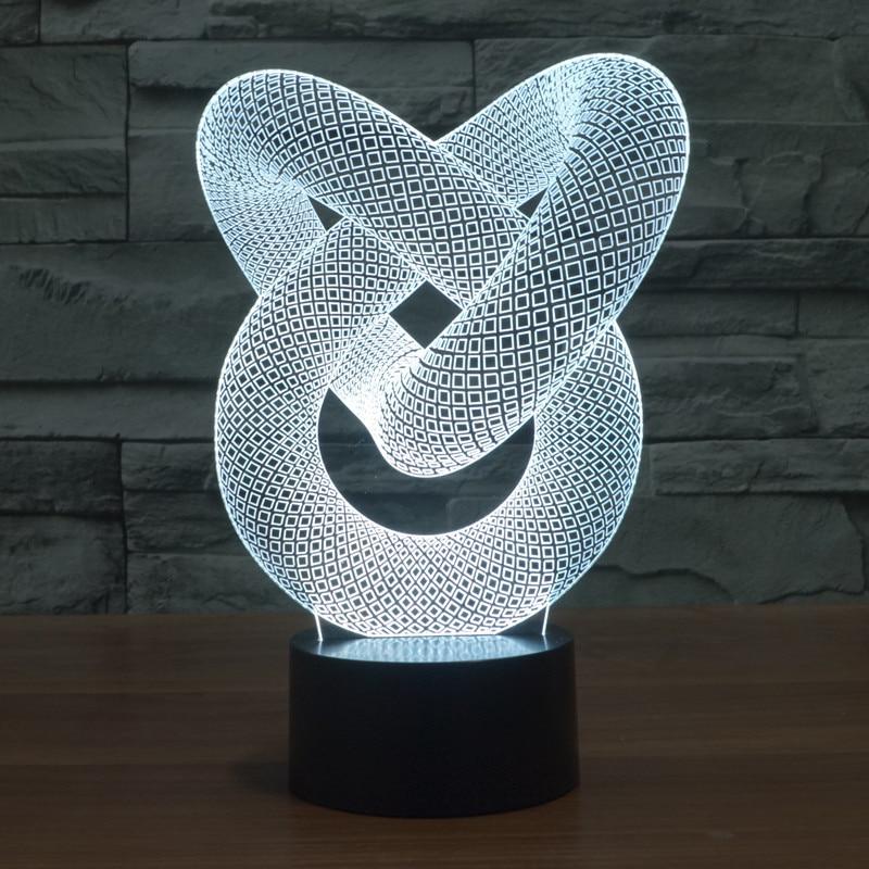 Luzes da Noite noite 3d abstrato ilusão gráficos as Baterias Estão Incluídas : Sim
