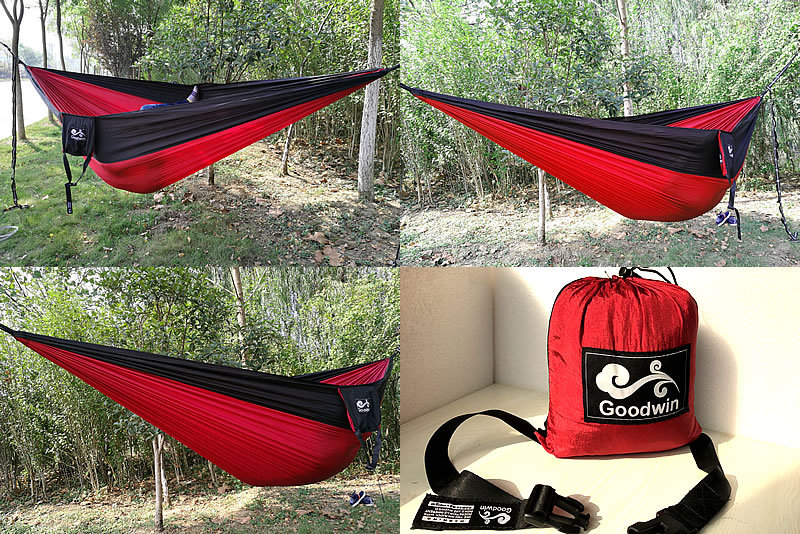 Medium image of red hammock 002