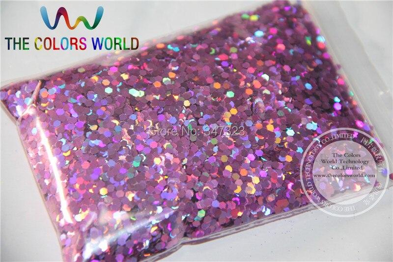 2 мм голографическая персик Цвет блеск дождевания Блёстки для нейл-арта и другие DIY аксессуары