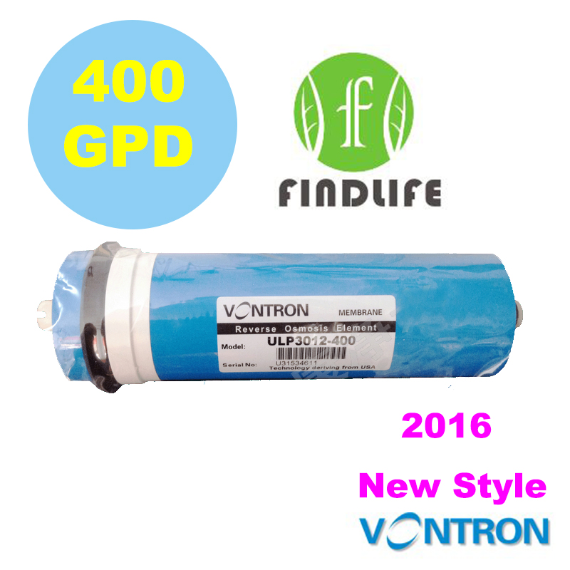 Water Filter Vontron ULP3012-400 Residential 400 gpd RO Membrane For Reverse Osmosis System Household Water Purifier NSF 300 gpd water filter ro booster pump for reverse osmosis drinking water