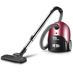 HIMOSKWA 1600W Low Noise Rod Vacuum Cleaner Home Dust Collector Handheld Acaricidal Aspirator Horizontal Type 9 Nozzles 220V