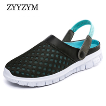 ZYYZYM Slipper Men Sandals Summer Unisex Style Fashion Light Casual Beach Flip Flops Big size 36-46