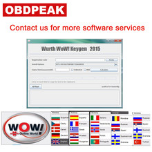 WOW Snooper Software V5.00.8 With Keygen Free Active For Wow Snooper TCS CDP MVD WOW Software Free Shipping(China)
