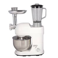 220V/1000W Multifunctional Dough Mixer 5L Electric Food Blender Milkshake Beater Cake Mixer With Juicer Grinder