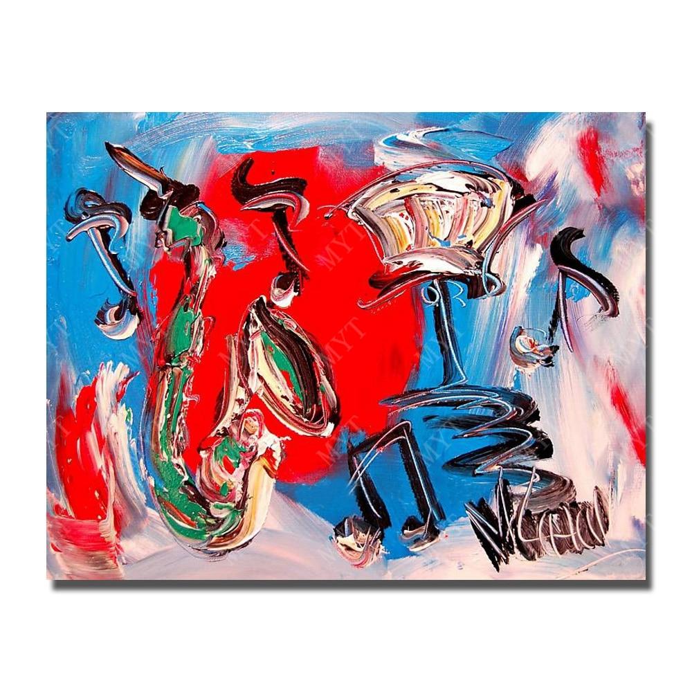 Pincel pintura al óleo abstracta pintada a mano moderna del arte de ...