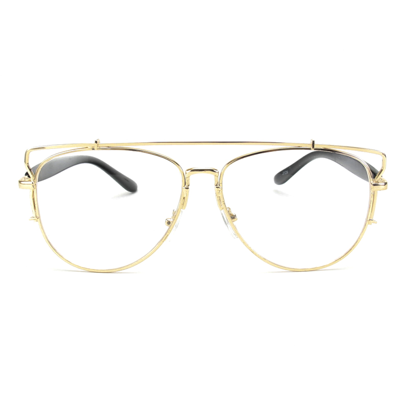 7fc4f7d298 ROYAL GIRL Vintage Eyeglasses frames Clear lens glasses Women eyeglasses  metal spectacle ss094-in Eyewear Frames from Apparel Accessories on  Aliexpress.com ...