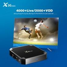 X96MINI Android 7 1 WiFi TV BOX Amlogic S905W Quad Core Suppot 2 4GHz wifi Media