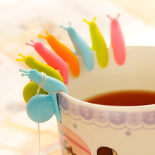 2pc Cooking Tools Small Snail Recognizer Device Tea Infuser Cup Of Hanging Bag Color Randomly
