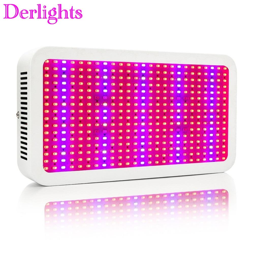 11 ленти пълен спектър 400W LED растеж червен + син + бял + UV + IR AC85 ~ 265V SMD5730 светодиодни лампи за аквариум LED