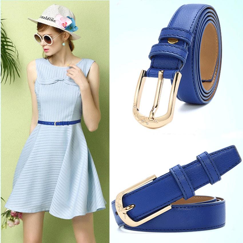 CATELLES Leather Belts For Women Designer Female Fashion Belt High Quality Woman Cinturones Mujer Metal Buckle Ceinture Femme (4)