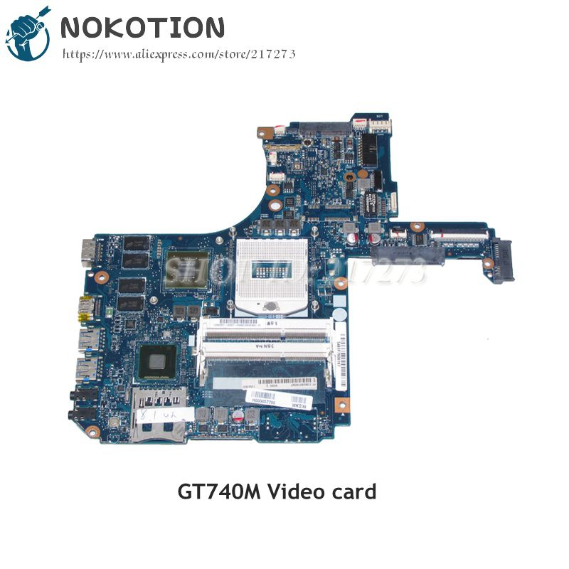 NOKOTION H000057700 MAIN BOARD For Toshiba Satellite P50 P55 P50-A P50T-A Laptop Motherboard HM86 DDR3L GT740M Video card