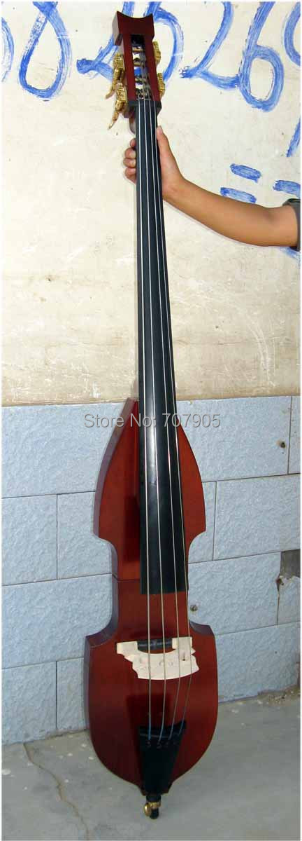 3/4 new Electric Upright Double Bass Finish silent Powerful Sound 2# new 3 4 upright double bass baroque model nice tone