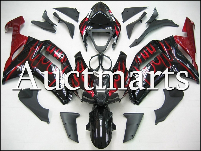 Fit for kawasaki ZX-6R 2007-2008 high quality ABS Plastic motorcycle Fairing Kit Bodywork ZX6R 07-08 ZX 6R CB02