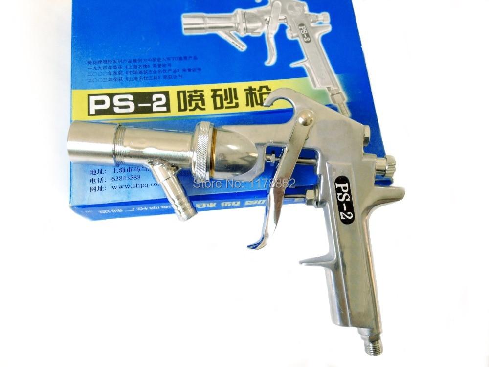Wysokiej jakości pistolet natryskowy Zestaw natryskowy Air Sandblaster Zestaw pistoletu do piaskowania pneumatycznego, PS-2, dysza powietrzna 3,5 mm