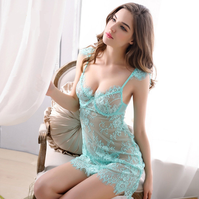 Lace nightgowns women nightwear sleepwear dress nighties for women sleeping dress women night dress sleepwear sexy nightgown