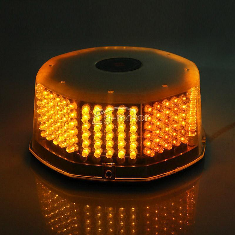 ФОТО 240 LED Beacon Amber Lamp Emergency Warning Strobe Light 12 Optional Patterns