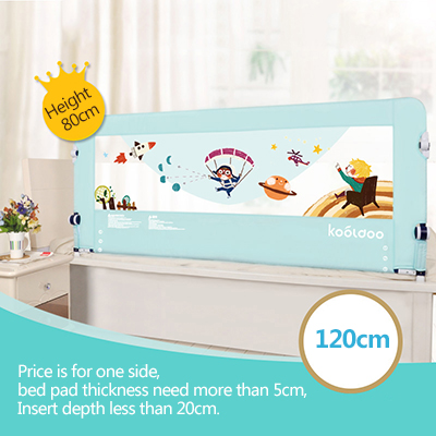Baby Bed Fence Baby Crib Fence 1.2-2m Stretch Bedside Baffle Height is 80cm baby crib fence bed fence fence baby bed 2 m double bed 1 8 general bedrail baffle
