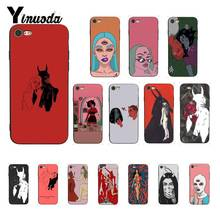 Yinuoda polly nor painting art Amazing landscape Phone Case for iPhone8 7 6 6S 6Plus X XS MAX 5 5S SE XR 10 11 pro max yinuoda the vampire diaries ian somerhalder luxury phonecase for iphone8 7 6 6s 6plus x xs max 5 5s se xr 10 11 11pro 11promax